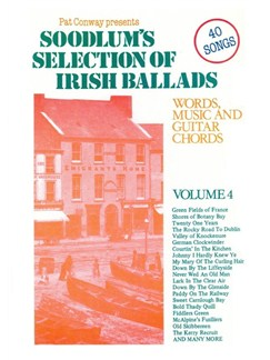 Soodlum's Selection Of Irish Ballads - Volume Four Books | Melody line & lyrics, with chord symbols