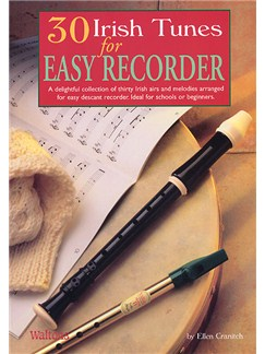 30 Irish Tunes For Easy Recorder Books | Soprano (Descant) Recorder