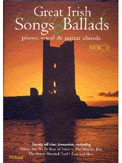 Great Irish Songs And Ballads Volume 1 PVG Books | Piano and Voice, with Guitar chord symbols