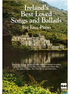 Ireland's Best Loved Songs And Ballads For Easy Piano Books | Piano and Voice, with Guitar chord symbols