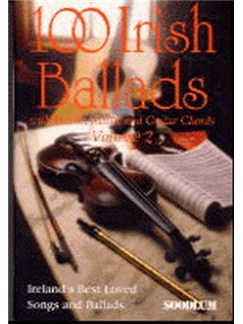 100 Irish Ballads Volume 2 Books | Melody line & lyrics, with chord symbols