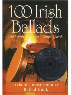 100 Irish Ballads - Volume 1 (CD Edition) Books and CDs | Melody line & lyrics, with chord symbols