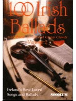 100 Irish Ballads Volume 2 (Book/CD) Books and CDs | Melody line & lyrics, with chord symbols