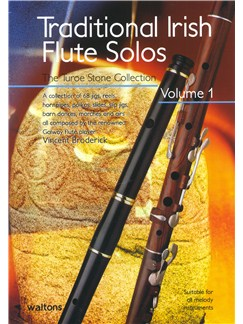 Traditional Irish Flute Solos - Volume 1 Books | Flute, Pennywhistle