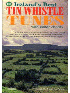 Ireland's Best Tin Whistle Tunes Livre | Flûte Irlandaise