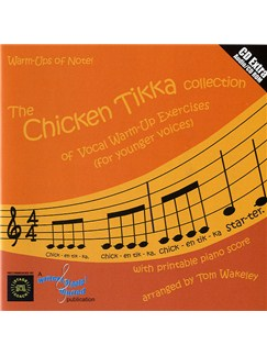 The Chicken Tikka Collection (CD And Printable Piano Score) CD-Roms / DVD-Roms and CDs | Voice, Piano Accompaniment