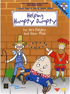 Sara Ridgley And Gavin Mole: Helping Humpty Dumpty (Book And CD) Books and CDs | Voices, Piano Accompaniment