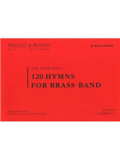 120 Hymns For Brass Band (Solo Cornet) Books | Cornet, Brass Band