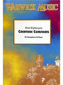 Mark Nightingale: Creature Comforts (E Flat Saxophone/Piano) Books | Alto Saxophone, Baritone Saxophone, Piano Accompaniment