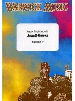 Mark Nightingale: Jazz@Etudes - Trombone Bass Clef Bog   Basun