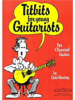 Cees Hartog: Titbits For Young Guitarists Books | Guitar