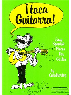 Cees Hartog: Toca Guitarra Books | Classical Guitar