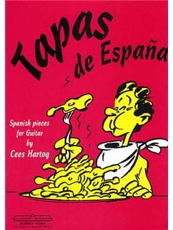 Cees Hartog: Tapas De Espana Books | Guitar