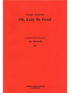 George Gershwin: Oh, Lady Be Good (Clarinet Quartet) Books | Clarinet (Quartet)