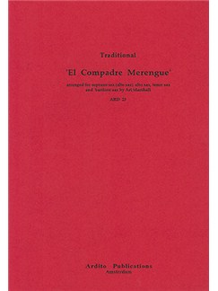 El Compadre Merengue Books | Saxophone (Quartet)