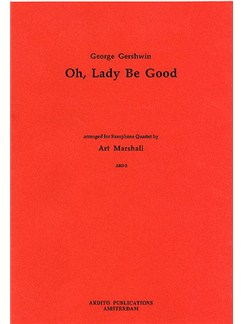 George Gershwin: Oh, Lady be Good (Saxophone Quartet) Books | Saxophone (Quartet)