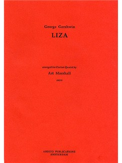 George Gershwin: Liza Books | Clarinet (Quartet)