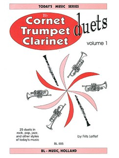 Cornet, Trumpet Or Clarinet Duets - Volume One Books | Clarinet (Duet)
