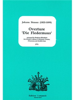 Johann Strauss II: Overture (Die Fledermaus) (Wind Ensemble) Books | 2 Flutes (with Piccolo), 2 Oboes, 2 Clarinets