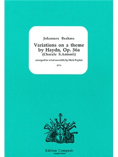 Variations on a theme by Haydn Books | Wind Ensemble