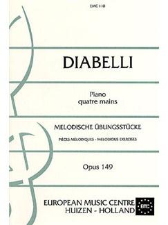 Anton Diabelli: Melodische Ubungsstucke Op.149 Books | Piano Duet
