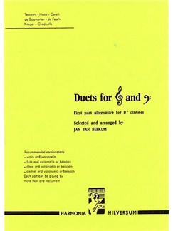 Duets For Treble And Bass Clef Instruments Books | Cello, Violin, Flute, Bassoon, Oboe, Clarinet