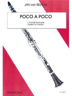 Jan Van Beekum: Poco A Poco Books | Clarinet