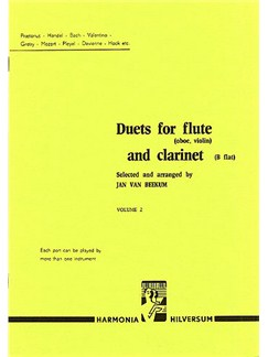Duets For Flute And Clarinet Volume 2 Books | Flute and Clarinet (Duet)