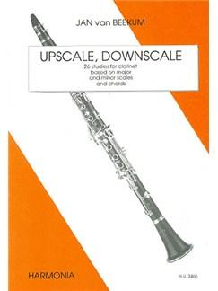 Jan van Beekum: Upscale, Downscale Books   Clarinet