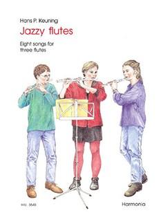 Hans P. Keuning: Jazzy Flutes Books | Flute (Trio)