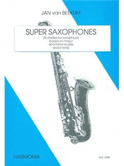 Jan Van Beekum: Super Saxophones Books | Saxophone