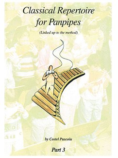 Classical Repertoire for Panpipes 3 Books | Panpipes