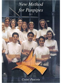 Costel Puscoiu: New Method For Panpipes - Part 1 Books | Pipes