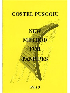 Costel Puscoiu: New Method For Panpipes - Part 3 Books | Pipes
