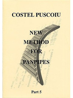 Costel Puscoiu: New Method For Panpipes - Part 5 Books | Pipes