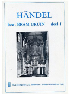G.F. Handel: Volume 1 Books | Organ