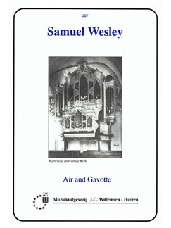 Samuel Wesley: Air And Gavotte Books | Organ