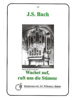 J.S. Bach: Wachet Auf, Ruft Uns Die Stimme Books   Organ