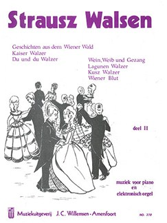 Johann Strauss II: Walzes - Book 2 (Piano) Books | Organ