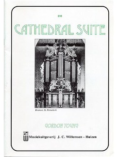 Gordon Young: Cathedral Suite Books | Organ