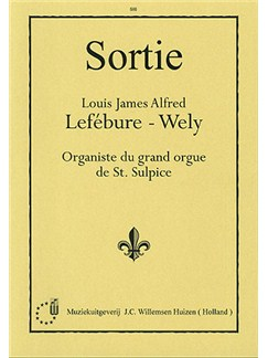 Louis Lefebure-Wely: Sortie Books | Organ