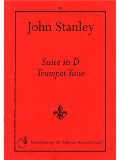 John Stanley: Suite in D - Trumpet Tune Books | Organ