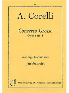 Arcangelo Corelli: Concerto Grosso Op.6 No.8 Books | Organ