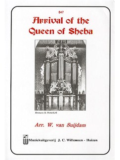 Arrival of the Queen of Sheba (Organ) Books | Organ
