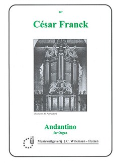 Cesar Franck: Andantino For Organ Books | Organ
