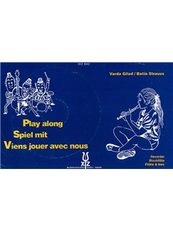 Varda Gilad And Batia Strauss: Play Along Recorder Books and CDs | Recorder
