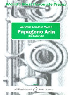 W.A. Mozart: Papageno Aria (Die Zuberflote) - Flute Trio Books | Flute (Trio)