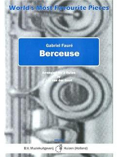 Gabriel Faure: Berceuse (Flute Trio) Books | Flute