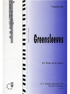 Greensleeves (Flute) Books | Flute, Piano Accompaniment