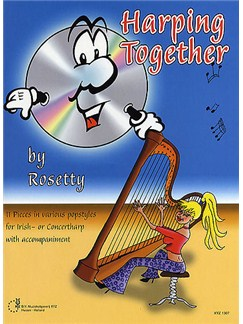 Rosetty: Harping Together Books and CDs | Harp